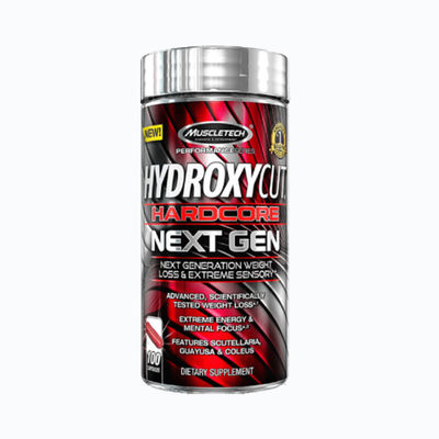 Hydroxycut hardcore next gen - 100 capsulas
