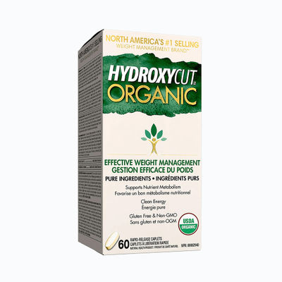 Hydroxycut organic - 60 capsulas