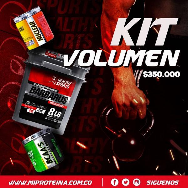 Pack de volumen