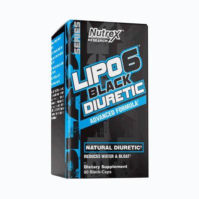 Lipo 6 black diuretic - 80 capsulas