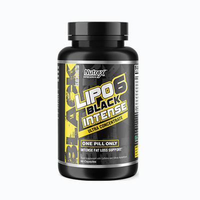 Lipo 6 black intense - 60 capsulas