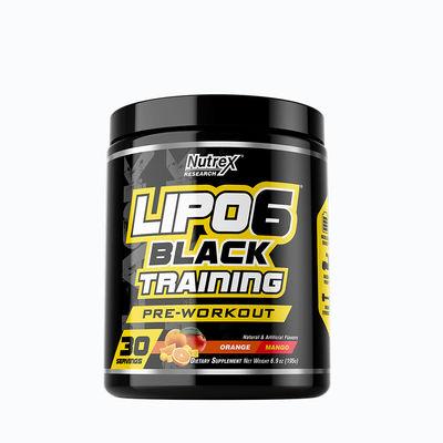 Lipo 6 black training - 30 servicios