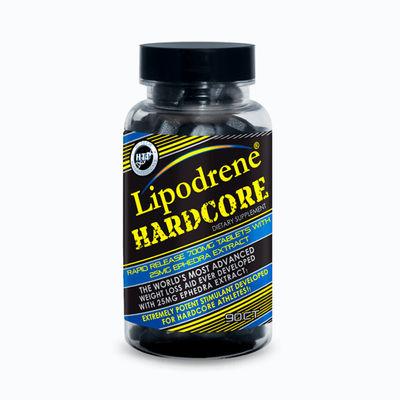 Lipodrene hardcore - 90 capsulas