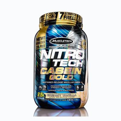 Nitrotech casein gold - 2,5 lb