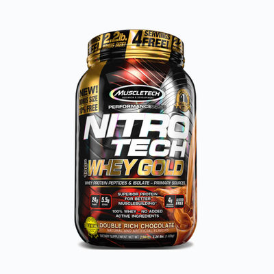 Nitrotech 100% whey gold - 2,2 lb