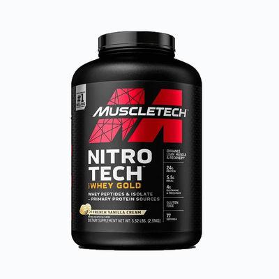 Nitrotech 100% whey gold - 5,5 lb