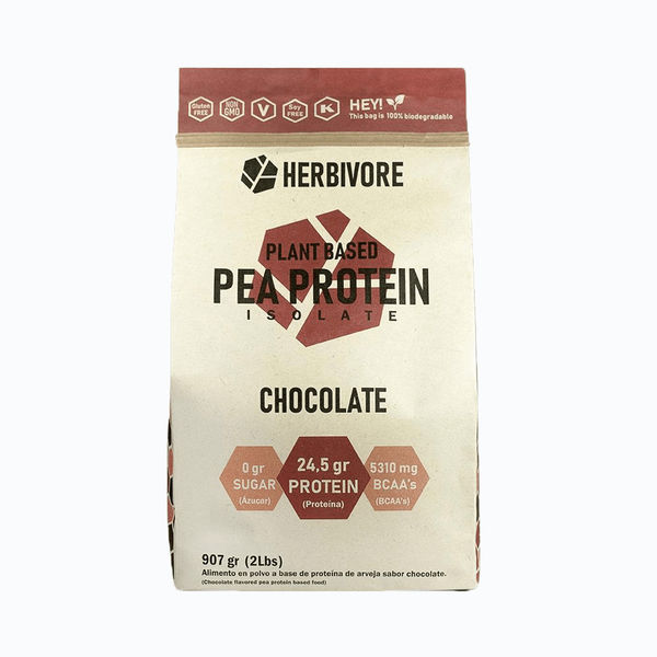 Pea protein isolate chocolate