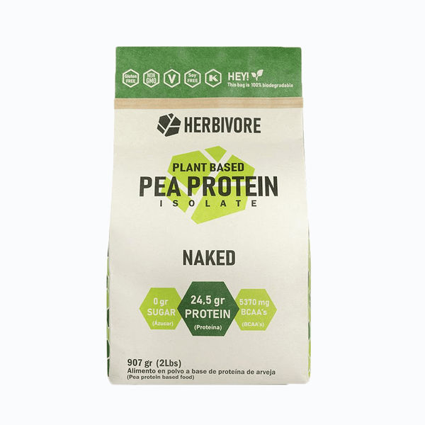 Pea protein isolate naked