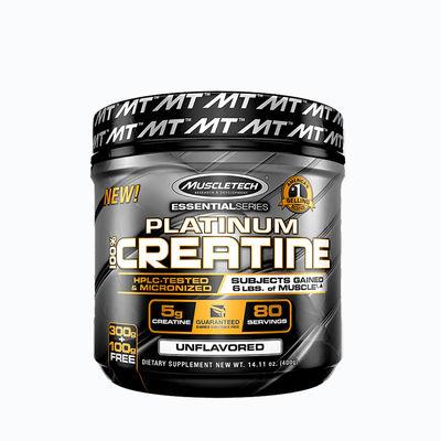 Platinum creatine - 400 grms