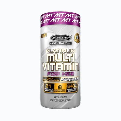 Platinum multivitamin for her - 90 capsulas