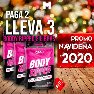 Combo 3x2 boddy ripped - 1 pack