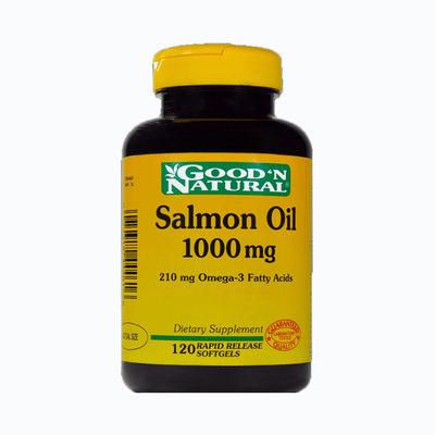 Salmon oil 1000mg - 120 capsulas