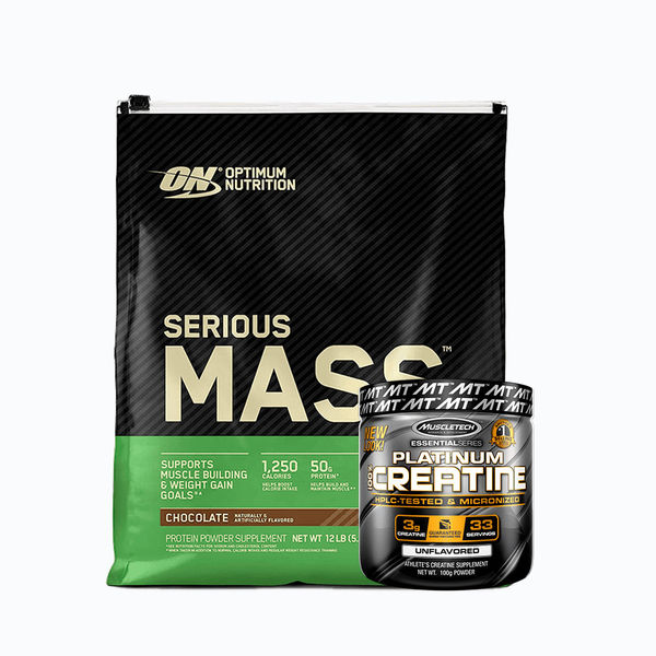 Serious mass 12lb + platinum creatine 100 grm