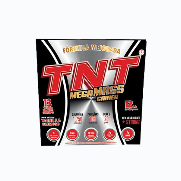 Tnt mega mass gainer