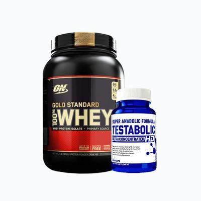 Combo de construcción de masa muscular - 1 pack