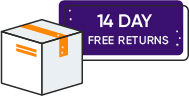 If you change your mind within 14 days you can return your unopened products free of charge.