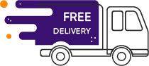 Free delivery on all orders through Hulii.