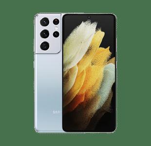 Samsung Galaxy S21 Ultra 256GB Phantom Silver - Pristine