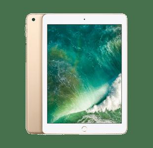 Apple iPad (5th Gen) 32GB Gold Wi-Fi + Cellular - Good