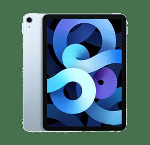 Apple iPad Air 4th Gen 64GB Sky Blue Wi-Fi + Cell - Pristine