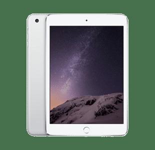 Apple iPad mini 3rd Gen 128GB Silver Wi-Fi + Cell - Good
