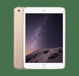 Apple iPad mini 3rd Gen 128GB Gold WiFi + Cell - Good