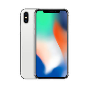 Apple iPhone X 256GB Silver - Pristine