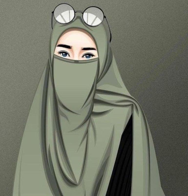 43+ Muslimah Gambar Kartun Lucu Imut Cantik Terupdate