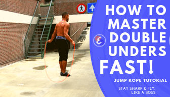 Jump Rope Double Under Tutorial – How to master Double Unders FAST!
