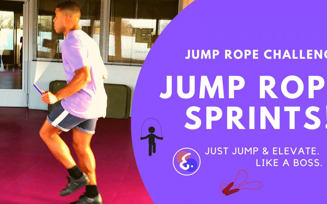 Jump Rope SPRINT CHALLENGE! – Jump Rope Challenges (#ElevateChallenges)