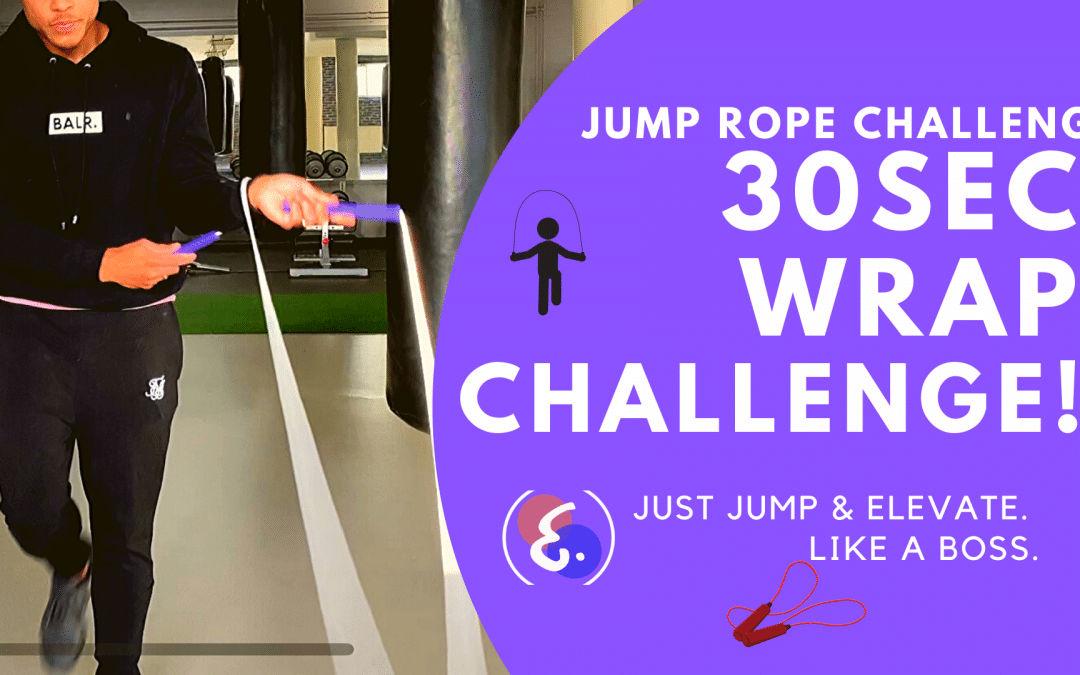 Jump Rope WRAP Challenge! – Jump Rope Challenges #ElevateChallenges