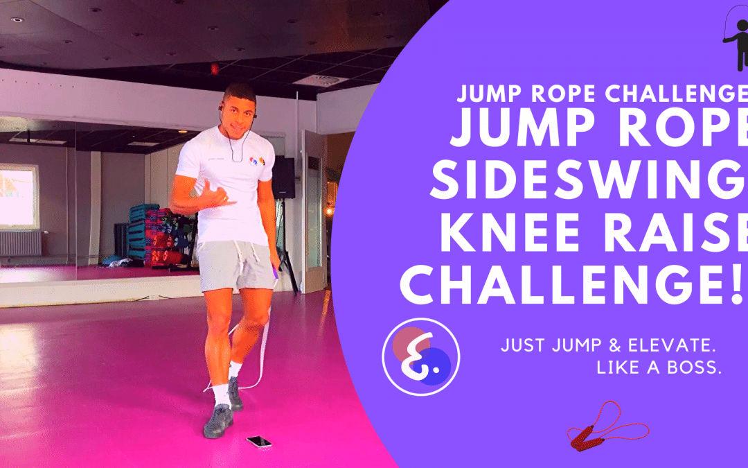 Jump Rope Sideswing Knee Raise Challenge! – Jump Rope Challenges #ElevateChallenges