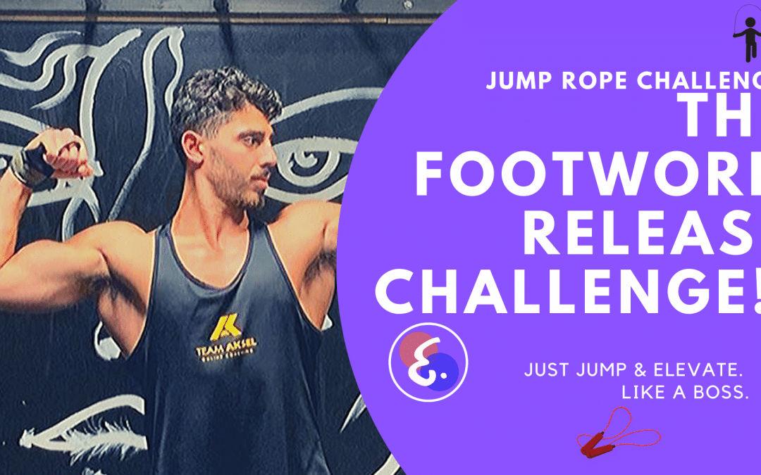 The Footwork Release Challenge! – Jump Rope Challenges #ElevateChallenges