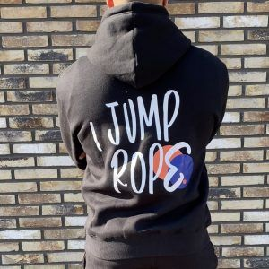 I Jump Rope Hoodie - Black