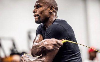 Insane Floyd Mayweather Jump Rope Challenge: 1,000 Calorie Burn