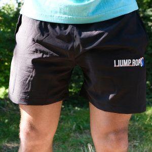 I Jump Rope Woven Shorts (Black)