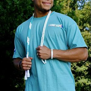 I Jump Rope Baggy T-Shirt (Turquoise)