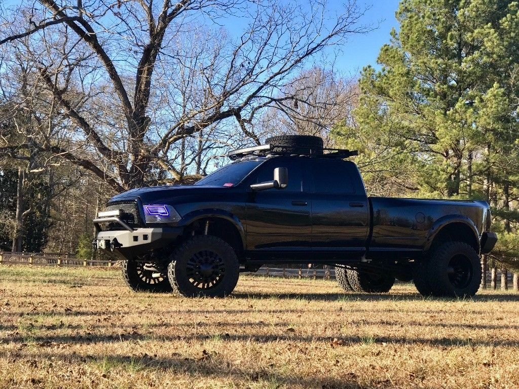 custom 2012 Dodge Ram 3500 pickup