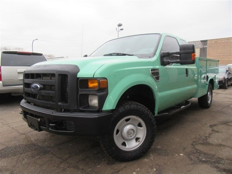 well equipped 2009 Ford F 250 XL Supercab pickup