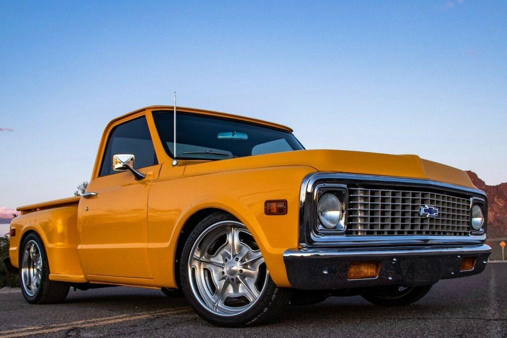 restomod 1971 Chevrolet C 10 pickup