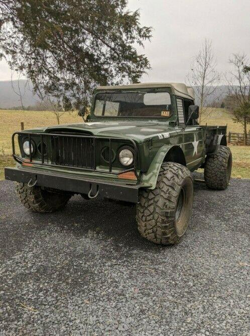 restored 1968 Kaiser M715 / Gladiator Jeep Truck pickup