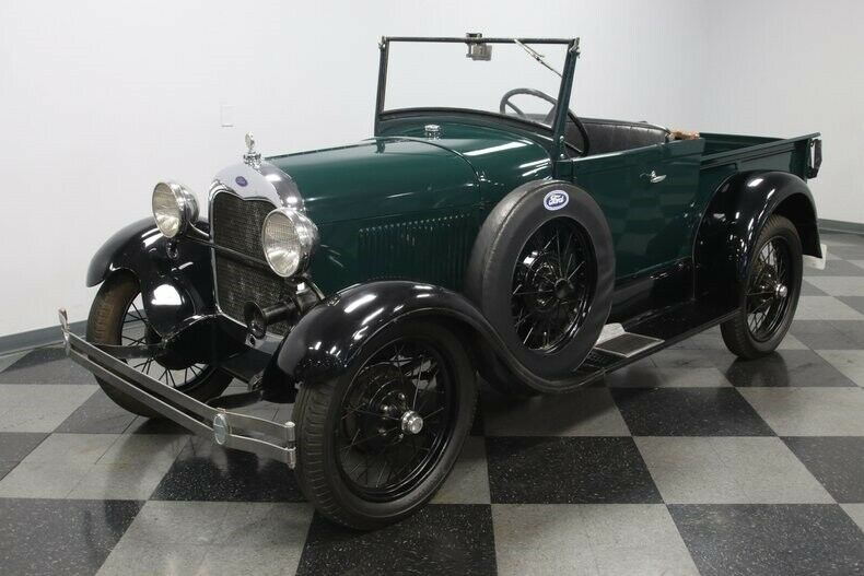 classic 1929 Ford Model A Roadster Pickup