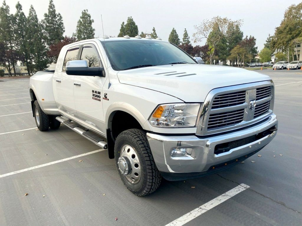 loaded 2012 Dodge Ram 3500 Laramie pickup