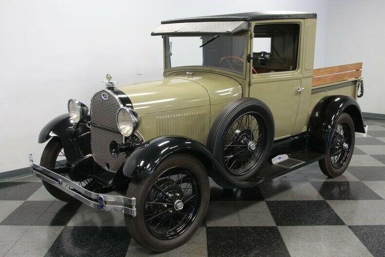 vintage 1928 Ford Model A Pickup