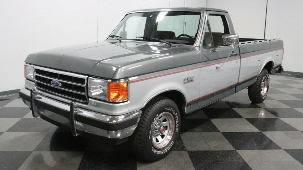 1991 Ford F 150 XLT pickup [properly maintained]
