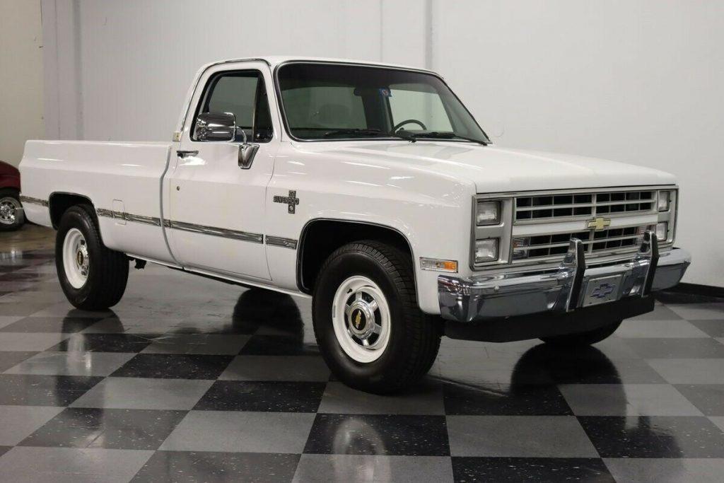1986 Chevrolet Silverado Pickup [restored]