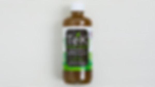 Agua de kefir de hierbabuena y limón
