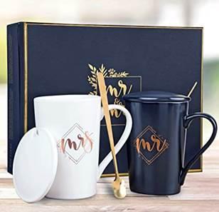 Wedding Gift Kedrian Mr and Mrs mugs