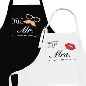 Wedding Gift Kitchen Apron set