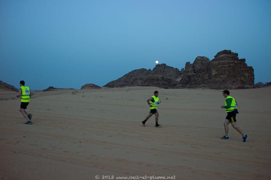 Marathon pleine lune Wadi Rum 2013